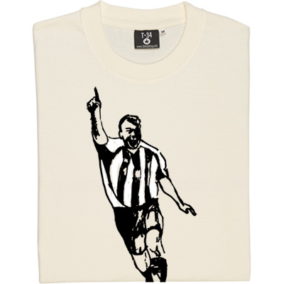 Alan Shearer Sketch T-Shirt. An artist's impression of one of Newcastle United's greatest number nines. United's...