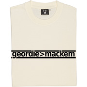Geordie Greater Than Mackem T-Shirt. The simple formulae are often the most fundamental. This bit of maths is simple...