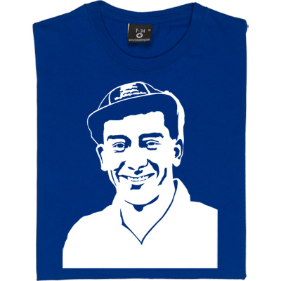 Jackie Millburn T-Shirt. A Magpie legend and one of the most prolific goal scorers in English football. 'Wor Jackie...
