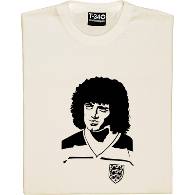 Kevin Keegan T-Shirt. Well known for his successes on the pitch as a Toon legend, he was not only King Kev as Newcastle's manager, but this infamous hairstyle also made him King of the shaggy perm.