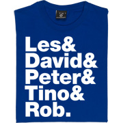 Les & Dave & Peter & Tino & Rob T-Shirt. Re-live the spirit of 1996 with our tribute to Newcastle United's own...