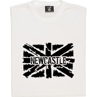 Newcastle Union Flag T-Shirt. Show your colours with our specially designed flag of Newcastle - you can choose from...