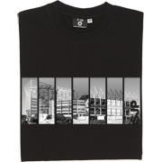 St James' Park SJP T-Shirt. A sliced, partly negative image of the home of Newcastle United. Always and forever SJP...