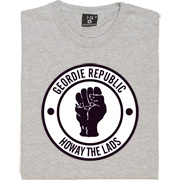Geordie Republic Howay The Lads T-Shirt. Based on the famous Northern Soul clenched fist of the 1960s, our take pays...