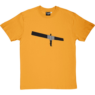 Angel Of The North NUFC Shirt Yellow Men's T-Shirt. Anthony Gormley's famous work of Art and beloved landmark of the...
