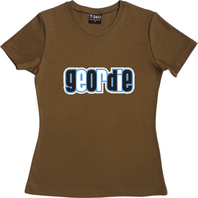 Geordie Olive Women's T-Shirt. Resident of Tyneside. Plain and simple.
