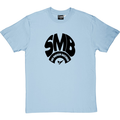 Sad Mackem Bastards Sky Blue Men's T-Shirt. Based on the classic Geordie t-shirt design as modelled by Lee Clark, and...