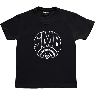 Sad Mackem Bastards Black Kids' T-Shirt. Based on the classic Geordie t-shirt design as modelled by Lee Clark, and...
