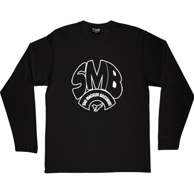 Sad Mackem Bastards Black Long-Sleeved Men's T-Shirt. Based on the classic Geordie t-shirt design as modelled by Lee...