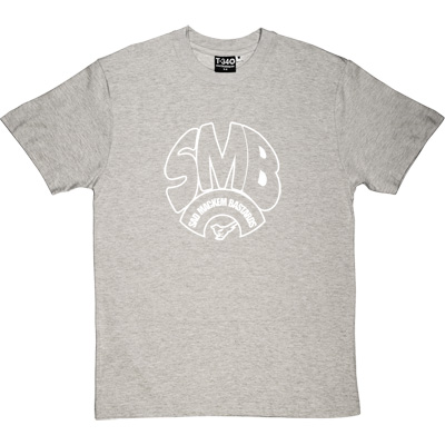 Sad Mackem Bastards Melange Grey/Ash Men's T-Shirt. Based on the classic Geordie t-shirt design as modelled by Lee... - click to zoom-in