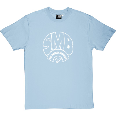 Sad Mackem Bastards Sky Blue Men's T-Shirt. Based on the classic Geordie t-shirt design as modelled by Lee Clark, and... - click to zoom-in